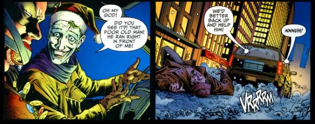 Detective Comics 826 joker hit and run