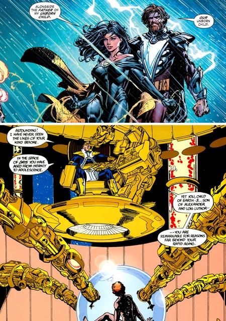 forever-evil-suprwoman-alexander-luthor-pregnant-crisis-infinite-earths-alexander-luthor-jr
