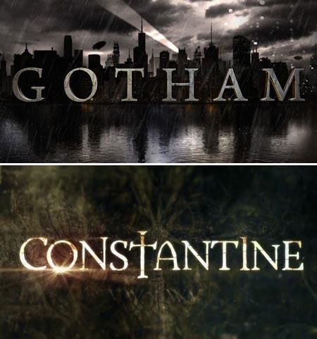 Gotham-TV-Show-Fox-Constantine-tv-show NBC-Logos