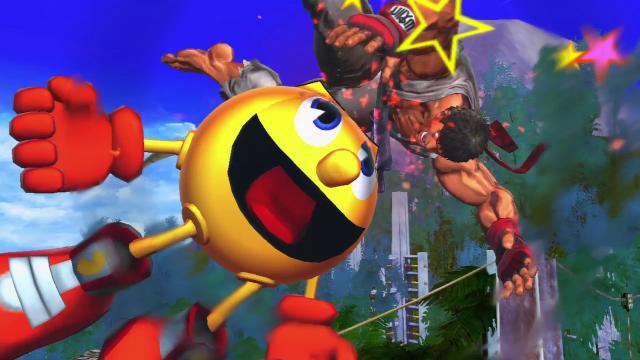 Street Fighter X Tekken Pacman