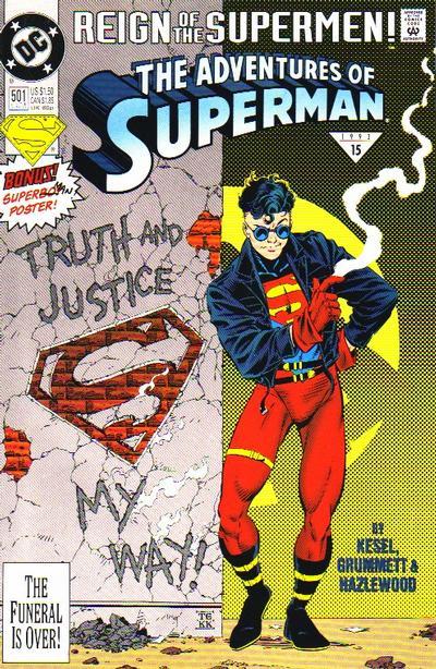 adventures of superman 501 superboy