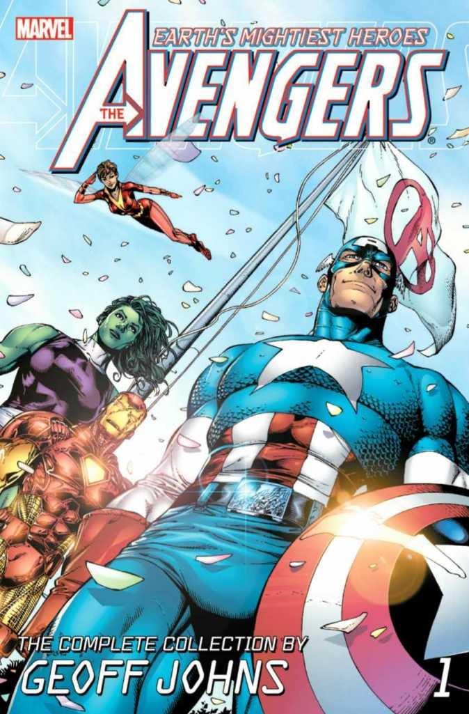 Avengers Vengadores Geoff Johns