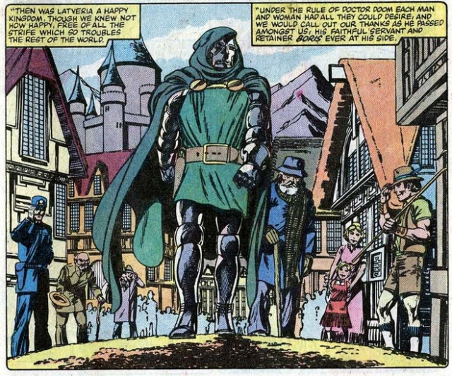 Doctor muerte doom latveria campechano