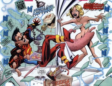 Superboy 94 didio palmiotti mccrea humor