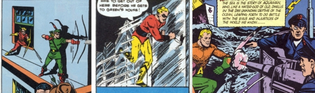 Green Arrow Johnny Quick Aquaman 1941 Weisinger