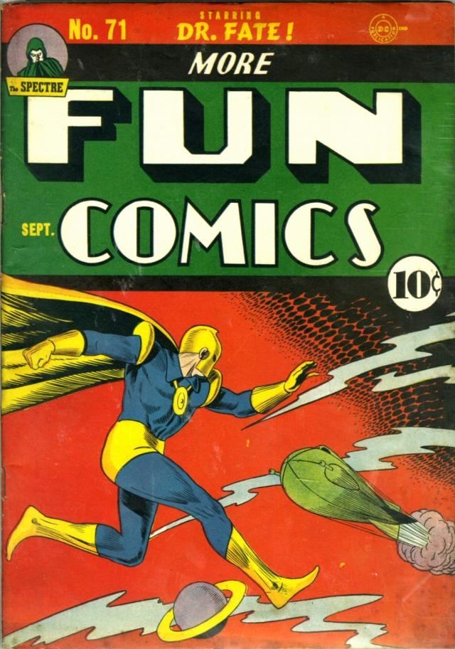More Fun Comics 71 1941 Weisinger