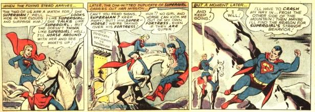 Supergirl bizarro vs Superman