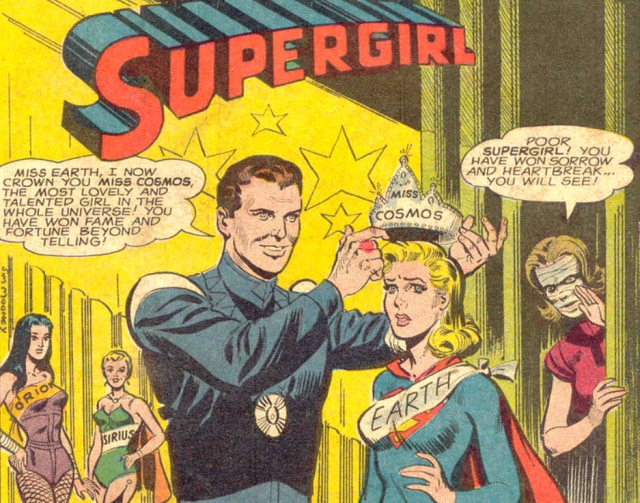 Supergirl miss earth