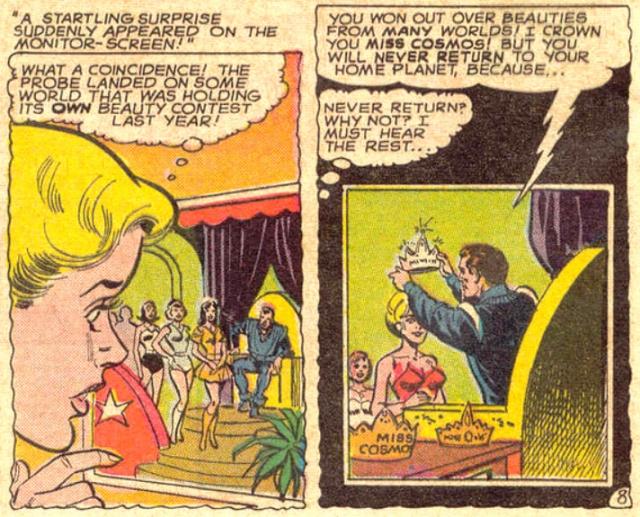 Supergirl sonda curiosidad