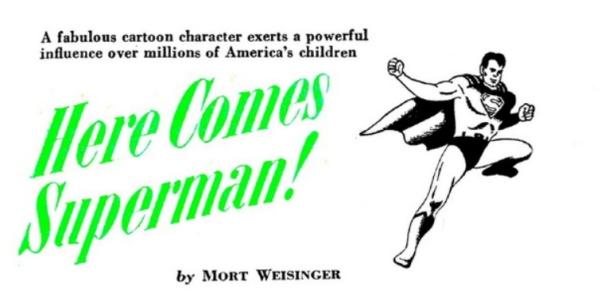 Weisinger Superman Coronet