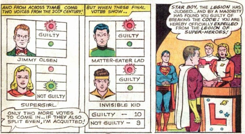 Adventure Comics 342 Jimmy Olsen Veredict