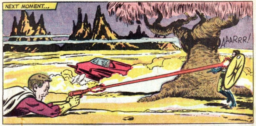 Adventure Comics 342 star boy kills