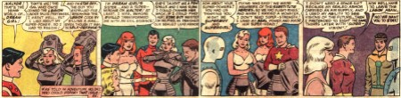 Adventure Comics 351 Dream Girl Star Boy back