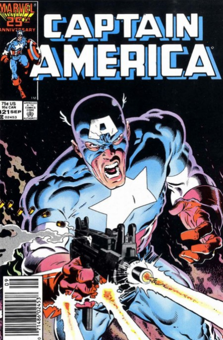 Captain America 321 Ultimatum Uzi Zeck