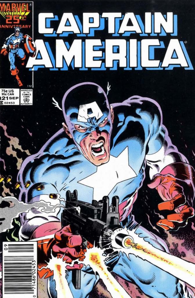 Captain America 321 Ultimatum Uzi Zeck