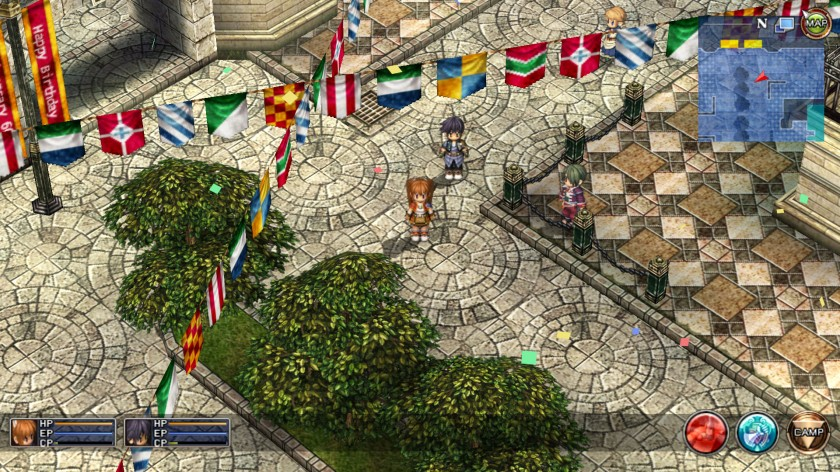 Legend of Heroes Trails in the Sky street
