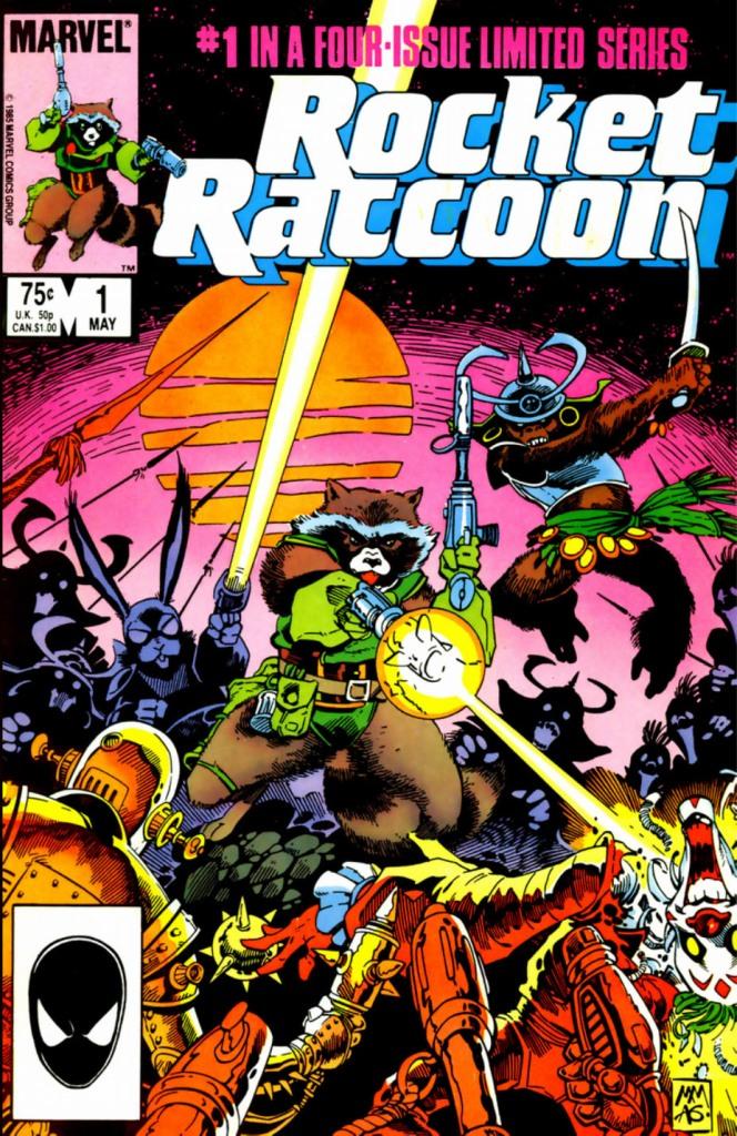 Rocket Raccoon 1 Mantlo Mignola