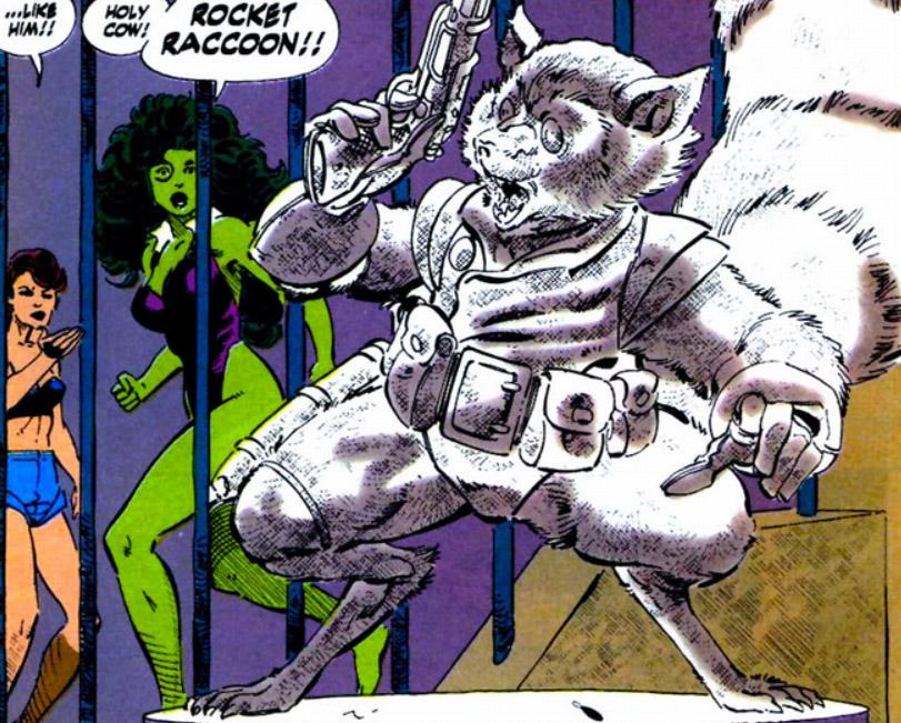 Rocket Raccoon She Hulk