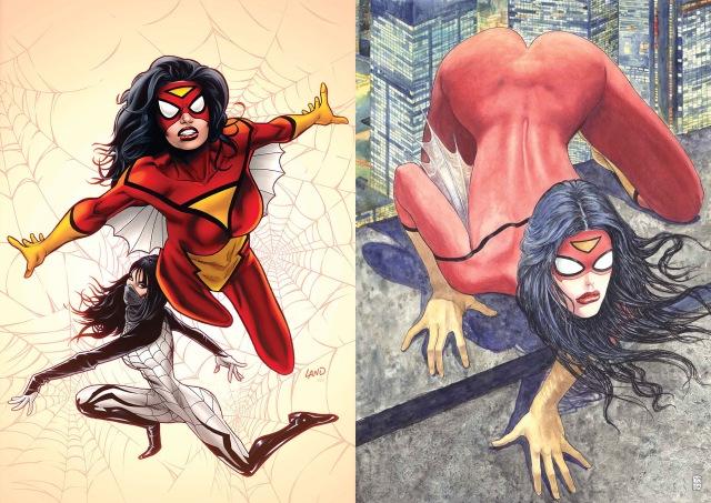 Spiderwoman 1 land manara