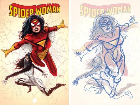 Spiderwoman Land correcciones