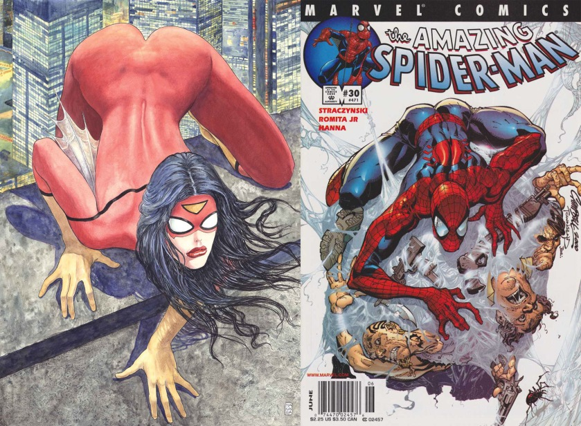Spiderwoman manara spiderman campbell