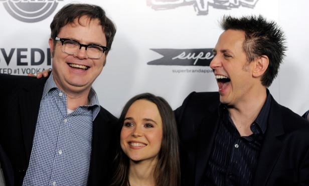 James Gunn, Rainn Wilson, Ellen Page