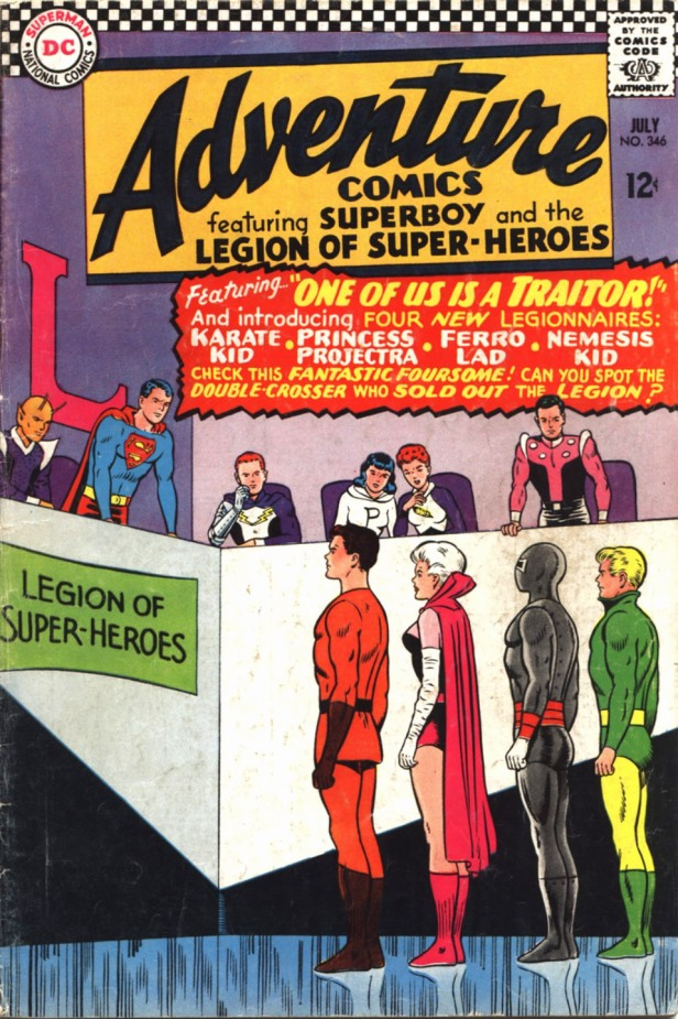 Adventure Comics 346 Shooter 1st