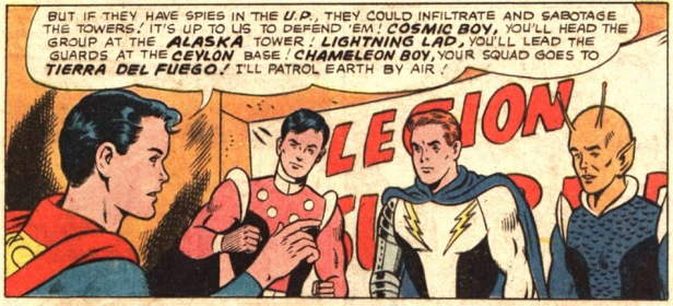 Adventure Comics 346 Shooter Superboy Legion