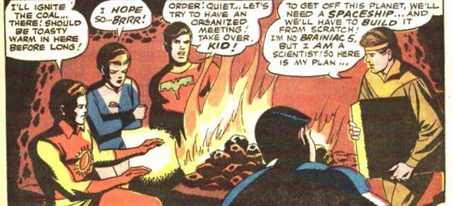 Adventure Comics 380 Legión de campamento