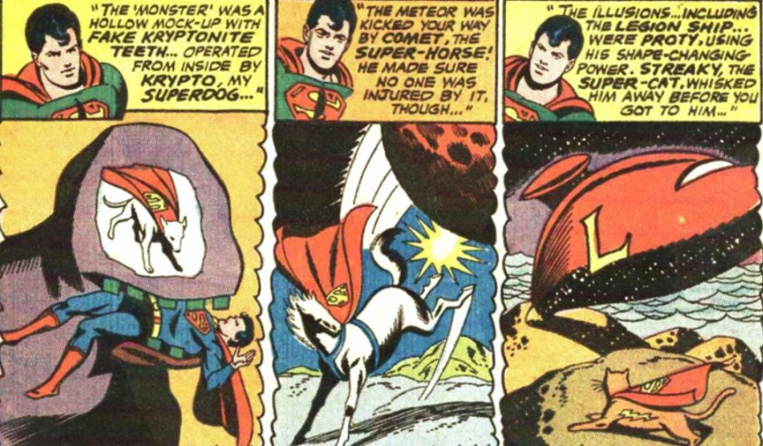 Adventure Comics 380 Superboy Pet Society