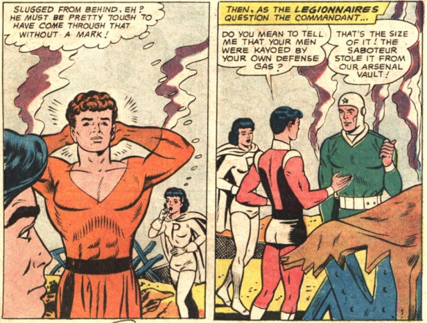 aventure comics 346 Karate Kid Pricesa Proyecta Princes Projectra
