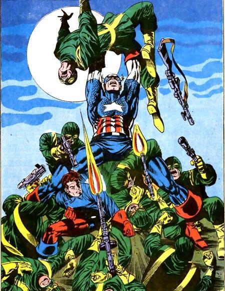 Captain America #113 - steranko