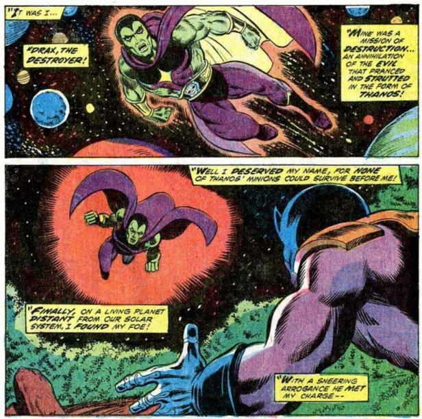 Drax The Destroyer el destructor