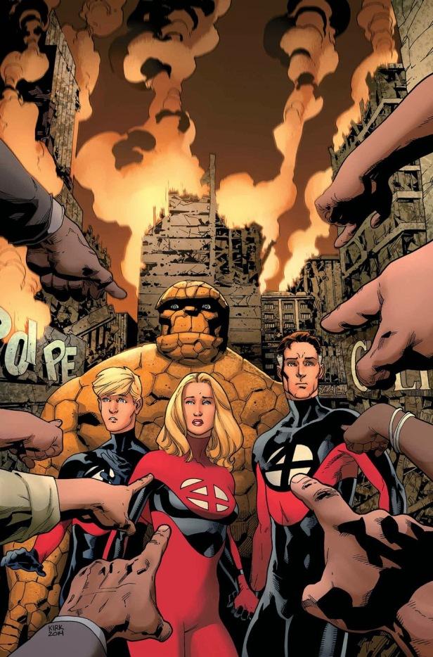 Fantastic Four 5 2014 Robinson