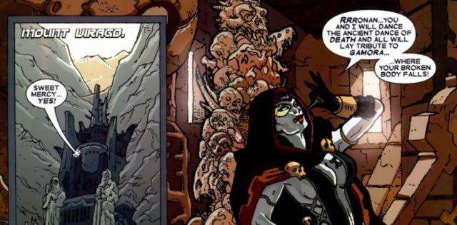 Gamora Annihilation Ronan