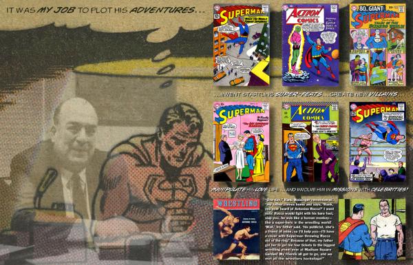 La relación de Weisinger y Superman en Alter Ego
