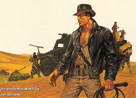pre-production-sketch-indiana-jones-raiders-of-the-lost-ark-jim-steranko