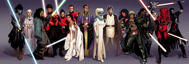 Star Wars Legacy Characters