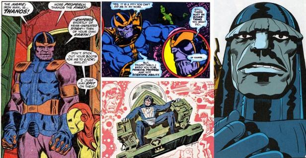 Thanos Darkseid Metron