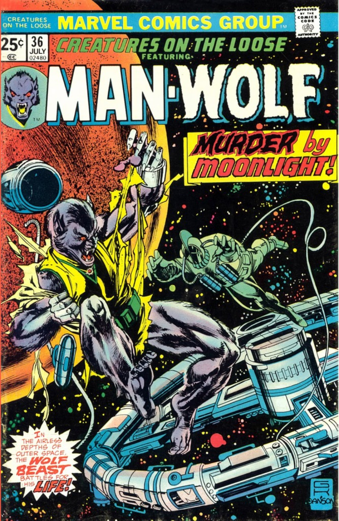 Creatures on the loose Man-Wolf 36