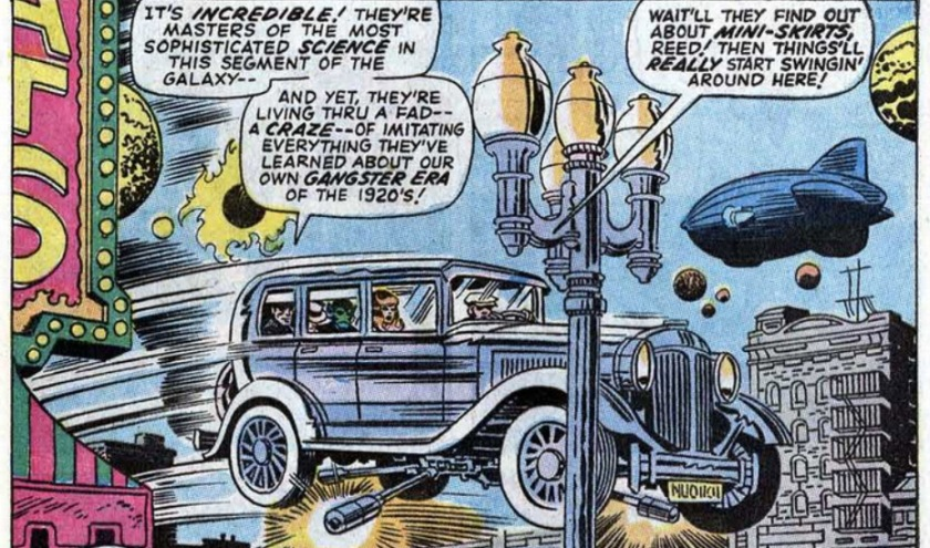 Fantastic Four 93 mafia skrull