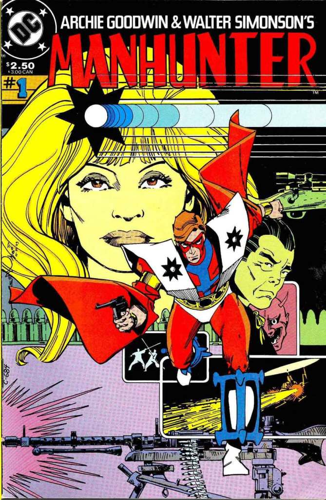 Manhunter Archie Goodwin Walt Simonson