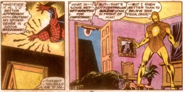 Peter Parker Spectacular Spider-Man 3 Fiscal Crisis Lightmaster