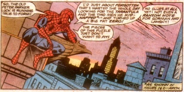 Peter Parker Spectacular Spider-Man 3 Spiderman pensando