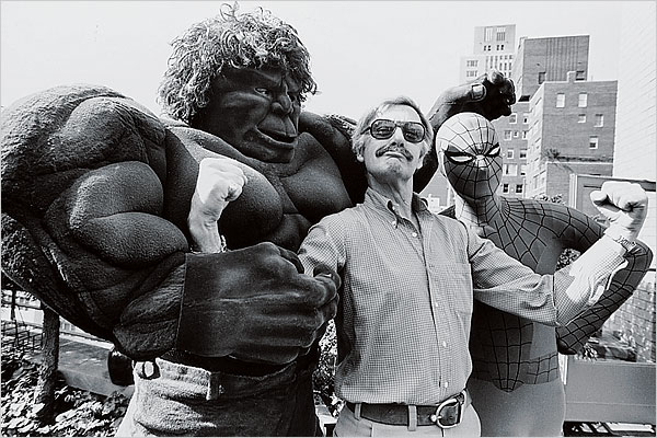 stan lee spiderman hulk