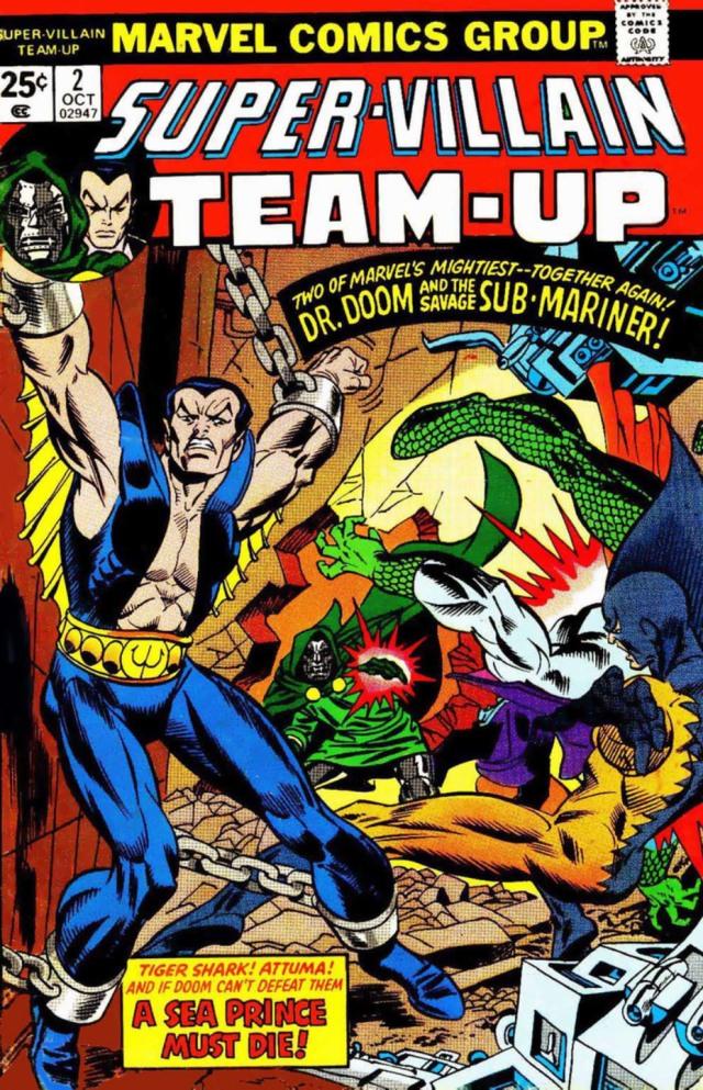 Super-Villain Team-Up 2