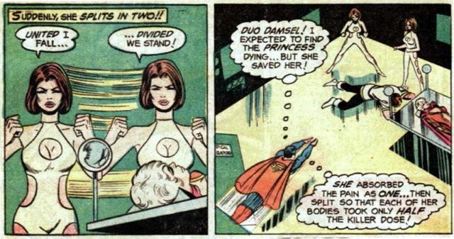 Superboy starring the Legion of Super-Heroes 209 duo damsel