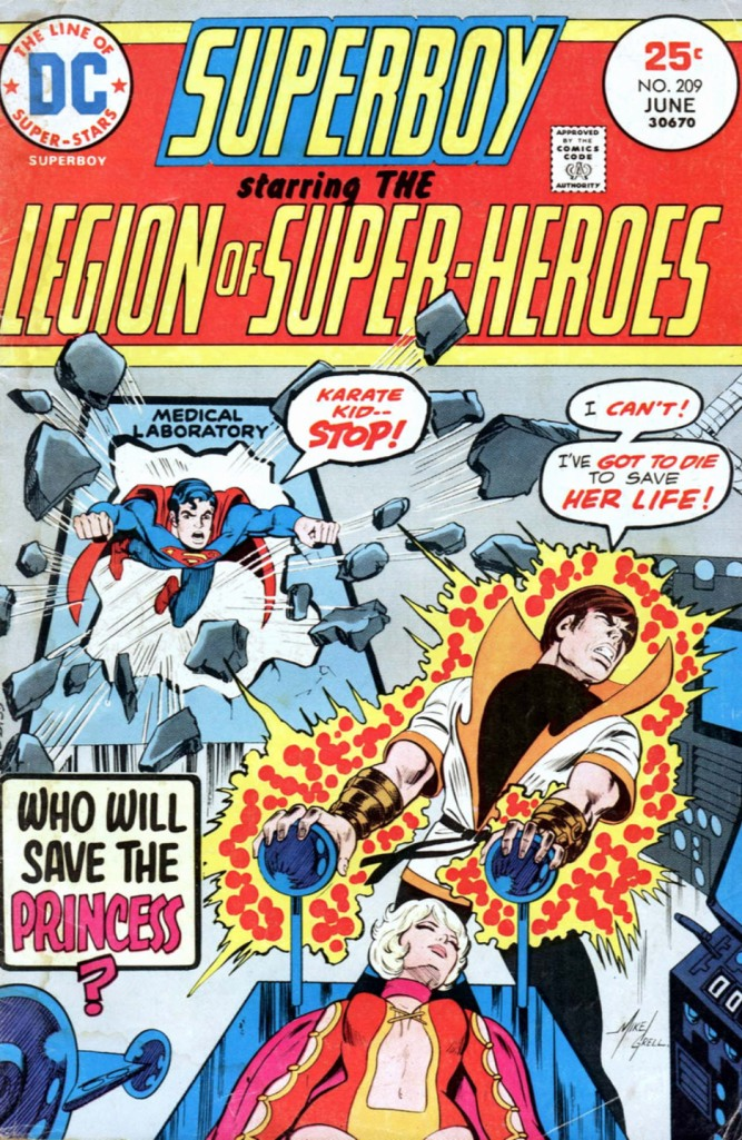 Superboy starring the Legion of Super-Heroes 209
