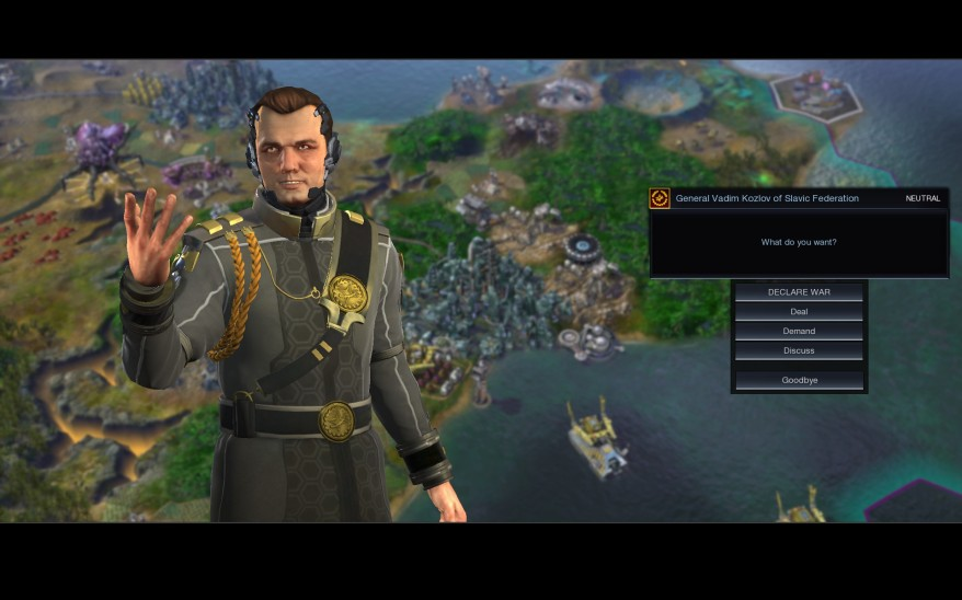 Civilization beyond earth Stalin