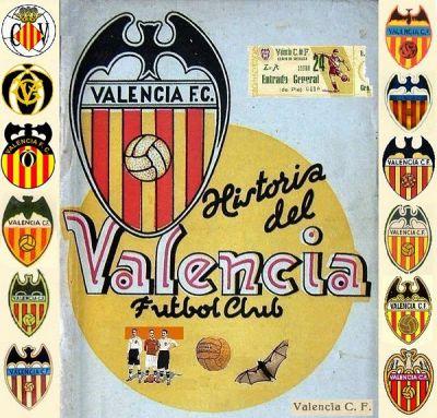 Historia del Valencia CF escudos